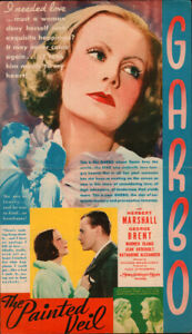 Painted Veil Original  Movie Herald from the 1934
