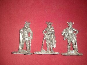 RARE Men of History Die Cast Metal Lot Vikings Leif Erickson Thorvald Karlsefni