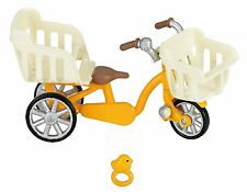 New Sylvanian Families Calico Critters Family Bicycle (3 Seats) KA-625 Japan