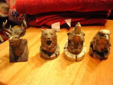 Eagle Deer Wolf And Bear Set (Set Of 4)