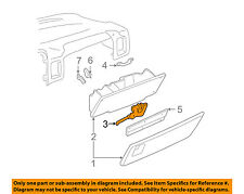 GM OEM Glove Compartment Box-Latch Handle 15713091