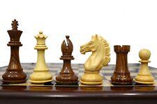 "4"" Alban Elite Luxury Staunton Chess Pieces with 2 extra queens"