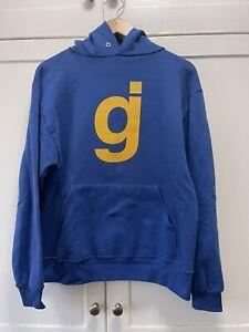 Vintage Glassjaw Logo Pullover Hoodie Sweatshirt Mens Small Hardcore Band Emo