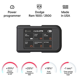 Dodge Ram 1500 2500 smart engine tuning chip power programmer race tuner