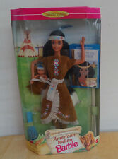 1996 AMERICAN INDIAN BARBIE with Papoose from American Stories Series MIB Nice!