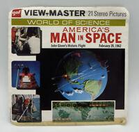 View-Master Sawyers # B 657 NASA MAN IN SPACE 3 Reel Set Vintage 1962 JOHN GLENN