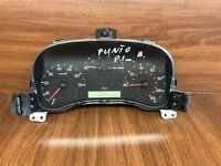 A50 FIAT PUNTO DASH CLOCKS INSTRUMENT CLUSTER SPEEDO 46812962 OEM