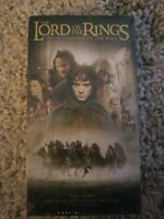 The Lord of the Rings ~The Fellowship of the Ring  ~ VHS  ~ Ships Free BRAND NEW