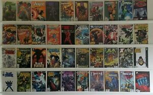 Lot of 40 MIXED YOUNG AVENGERS IRON MAN JLA HOUSE M VINTAGE COMIC BOOK (683)