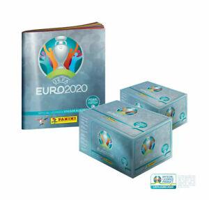 Panini UEFA EURO 2020™ Pearl Edition official sticker collection 2 x Box + Album