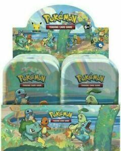 Pokemon Celebrations Mini Tin Display (8 tins) - Factory Sealed