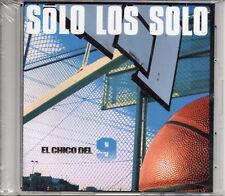 """SOLO LOS SOLO """"EL CHICO DEL 9"""" ULTRA RARE PROMO CD MAXI / NEW SEALED & STICKERED"""