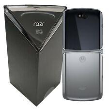 NUOVO CON SCATOLA Motorola Razr 5G DUAL-SIM XT2071-4 256GB sbloccato di fabbrica di Mercurio SIMFREE