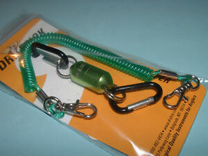Dr Slick Magnetic Tool Keeper Fly Fishing Mini Mag Holder with Lanyard MINIMAG