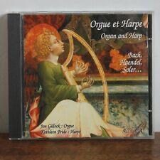 BACH HAENDEL SOLER... Orgue et harpe – Jon Gillock Kathleen Bride– 74321 33613-2