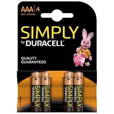 Duracell 4 alcalino micro AAA Lr03