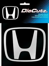 honda decal clear sticker decal window die cutz white accord vechicle graphics