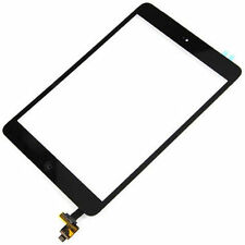 5 X Black Touch Glass Digitizer Screen Home Button + IC Connector iPad Mini 1 2
