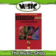 New Essential Elements for Jazz Ensemble: Baritone Saxophone Book & CD