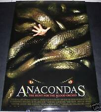 Anacondas: Hunt For The Blood Orchid 2004 MOVIE POSTER