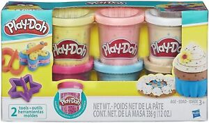 Play Doh Confetti Compound Collection 6 Tubs, 2 tools 3+ Years special edition