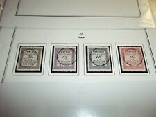 COOK ISLANDS STAMPS SG 1-4 Fine Used With BLACK A2 PO Rarotonga Cancels