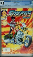 SAVAGE TALES #1 CGC 9.4 WP 1st Nam MOTORCYCLE cvr MARVEL MAGAZINE 1985