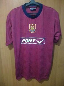 RARE 90s West Ham United utd Hammers original Pony training shirt jersey Size L