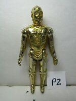Vintage Loose 1977 Star Wars: A New Hope C-3PO Droid (Gold Color) Figure