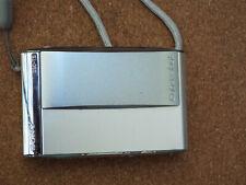 Sony Cyber-Shot DSC-T5 5.1MP Digital Camera - Silver W/ Battery