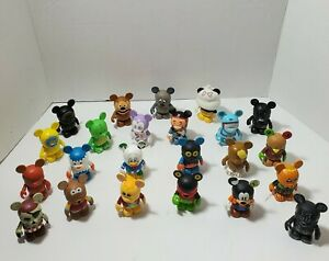 Disney Vinylmation Lot, 23 Figures Included, Preowned, Please Read Description