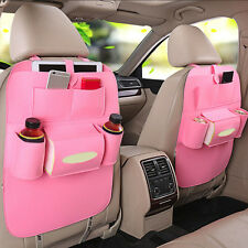 Automobile Seat Bag Back Car Auto Supplies Multifunctional Vehicle Storage Box