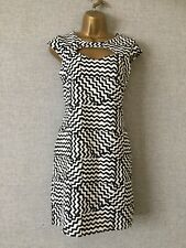 River Island  stretch summer party bodycon wiggle  holiday dress sz 16