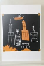 "JEAN-MICHEL BASQUIAT: ""MECCA"" 1982, rare Art-Postcard  NEW"