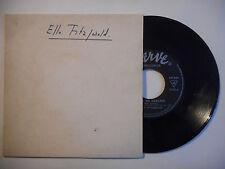 ELLA FITZGERALD : MEMORIES OF YOU ♦ 45T PROMO PORT GRATUIT ♦