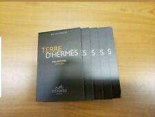 TERRE D' HERMES EAU INTENSE VETIVER EDP SPRAY VIALS 10ml BY HERMES TRAVEL LUXURY