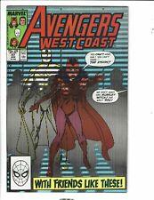 10 West Coast Avengers Marvel Comic Books # 47 48 49 51 52 53 54 55 56 57 RJ6