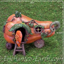 New Fairy Garden House -  The Butternut Barrow Caravan - Fairy caravan - 26cm