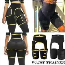 US 3 In 1 Neoprene Shaper Waist Trainer Leg Slimming Trimmer Wrap Belt Shapewear