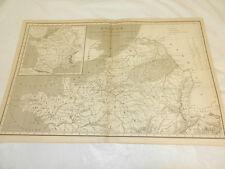 1819 Antique Map//GALLIAE (NETHERLANDS & BELGIUM AREAS)///a