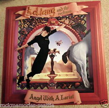 KD LANG 1987 Promo Album Flat Poster Angel With A Lariat k.d.