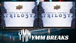 *PRESALE* 2 x 2020-21 Trilogy Hockey Hobby LIVE BREAK - TEAM RANDOM