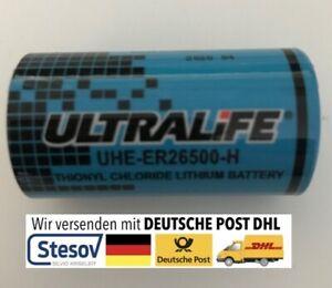 Lithium Batterie R14 3,6V Volt ER26500 Ultralife 9000mAh NEU R 14 C