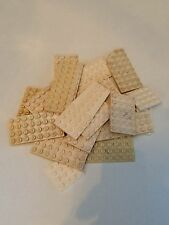 Lego White Flat Bricks 4x4 4x6 4x8 6x8