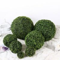 Artificial Plant Ball Topiary Tree Wedding Party Home Garden Outdoor Decor