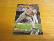 Kerry Wood Autographed Signed 2010 Upper Deck #167 Card MLB Cleveland Indians