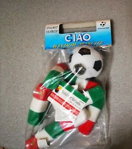 MASCOTTE COLLEZIONE CIAO OFFICIAL ITALIA90 WORD WIDE EXCLUSIVE OFFICIAL LICENSEE