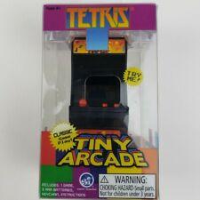 New World's Smallest Tiny Arcade Tetris Mini Handheld Retro Game w/ Keychain