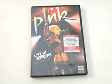PINK - LIVE IN EUROPE - DVD FREE ZONE 2006 - OTTIME CONDIZIONI