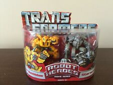 Transformers Movie Hasbro Robot Heroes Figure 2-Pack Allspark Bumblebee & Starsc